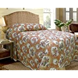 Scent-Sation Shell Key Bedspread, Queen