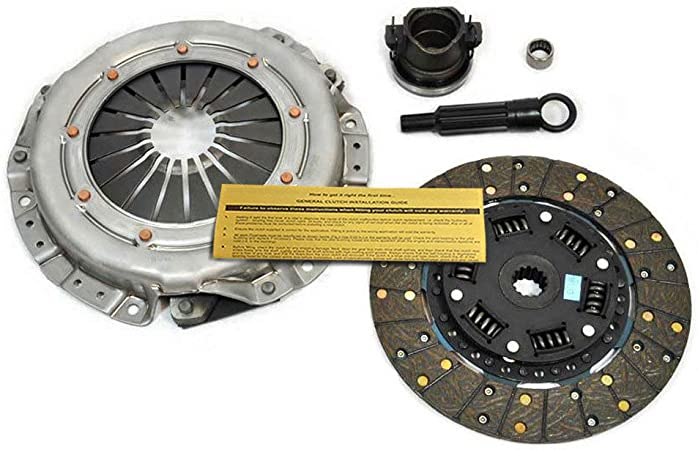 l4 GAS OHV Naturally Aspirated In Clutch Kit Works With Jeep Tj Wrangler Cherokee Base Se Rio Grande S Sport Utility 2-Door 1994-2002 2.5L 150Cu 4 CylindersL4, 2.5L