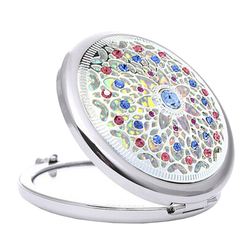 Lovely Make-up Mirror Beauty Collapsible Two-Sided Cosmetic Mirror Star Bright Blancho Bedding