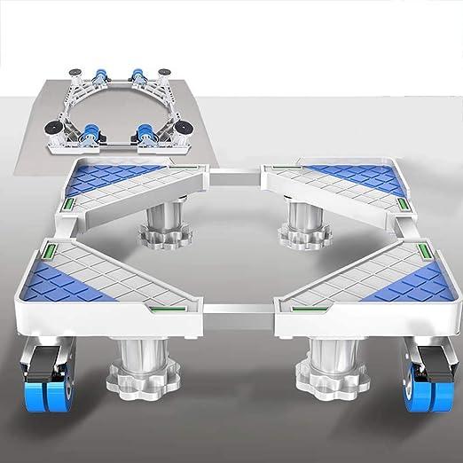 MSLYDYG Frigorífico Soporte Ajustable Multi Funcional Base Móvil ...