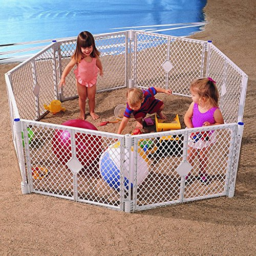 North States SUPERYARD XT Baby/Pet Gate & Play Yard by North States (Image #5)