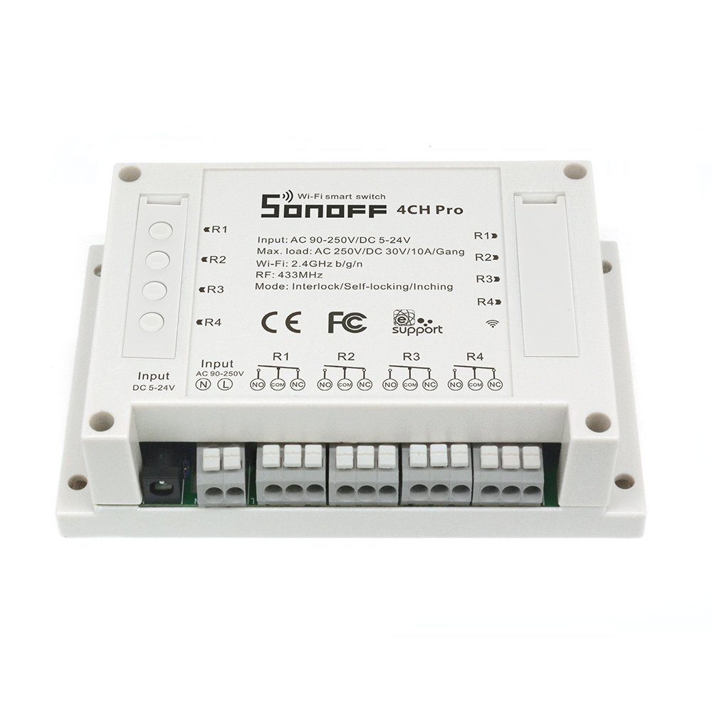 Sonoff 4CH Pro- Sonoff Intelligenter 4-Wege Schalter ...