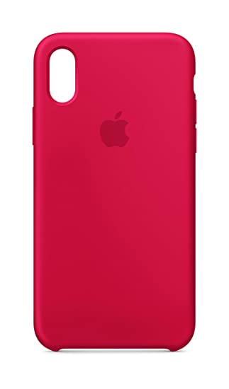 newest fb2ff ab1a9 Apple Silicone Case (for iPhone X) - (PRODUCT)RED