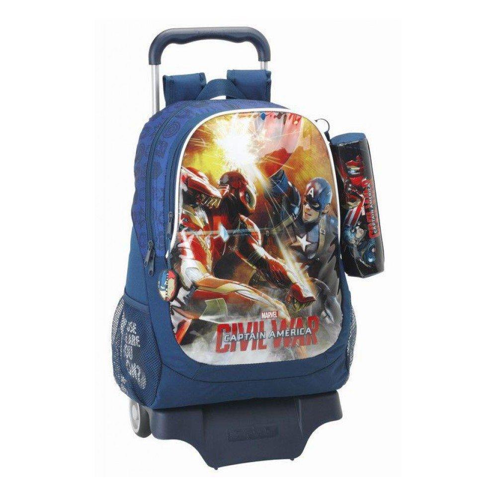 Safta Infantil Avengers 611609313 Mochila Infantil Safta 94a526