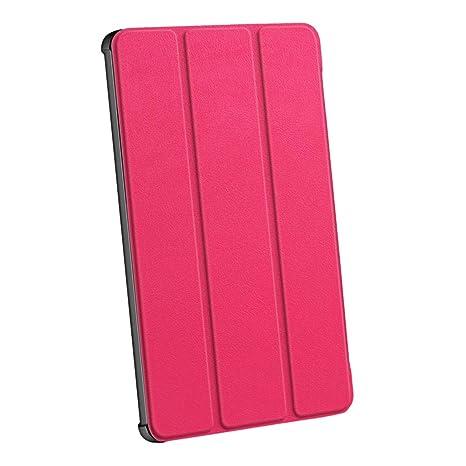 Sharplace Mediapad M5 Tablet Soporte Protector Accesorios Ordenador Portátil Cámara Fotografía - Rosa Roja