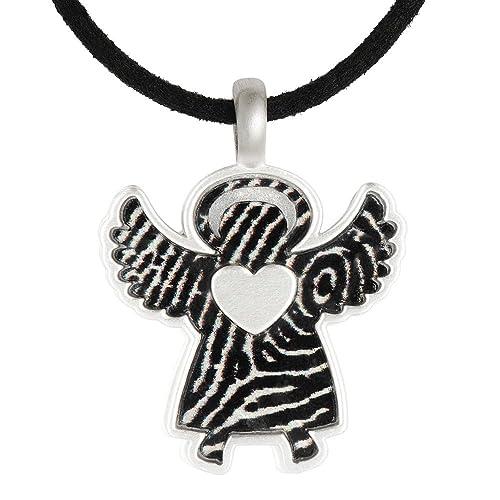Guarda tu cubiertos en plata cubierta colgante Ángel plata 925: Amazon.es: Joyería