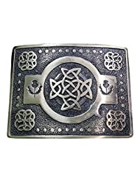 AAR Scottich Kilt Belt Buckle Celtic knot Design Antique finish