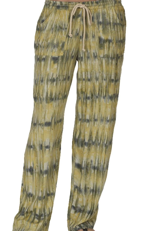 Santiki Tie Dye Cargo Pant - Dark Ocean