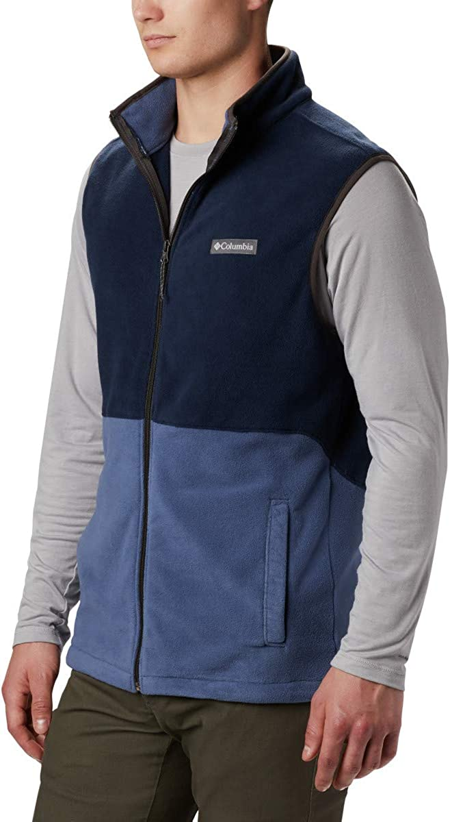 Full Zip Columbia Men/'s Basin Trail Fleece Vest