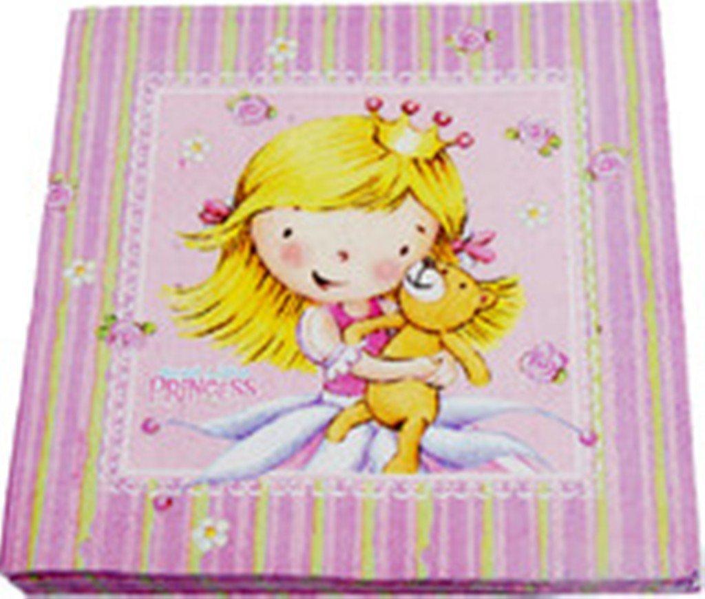 SWEET LITTLE PRINCESS Prinzessinnen Kindergeburtstag 20 Servietten