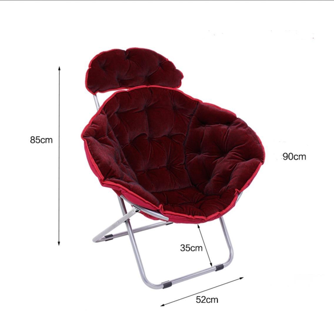 SMACO-moon Chair Die Klappstühle Stuhl Bürostuhl Freizeit-Stuhl Klappstühle Klappstuhl, 3