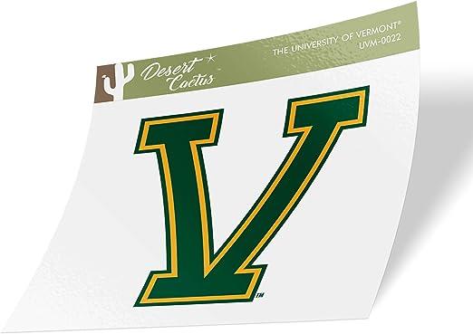 University of Vermont UVM Catamounts NCAA Name Logo Vinyl Decal Laptop Water Bottle Car Scrapbook 8 Inch Sticker