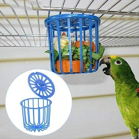 LDREYF Jaula comedero para pájaros Jaula para Frutas y Verduras ...