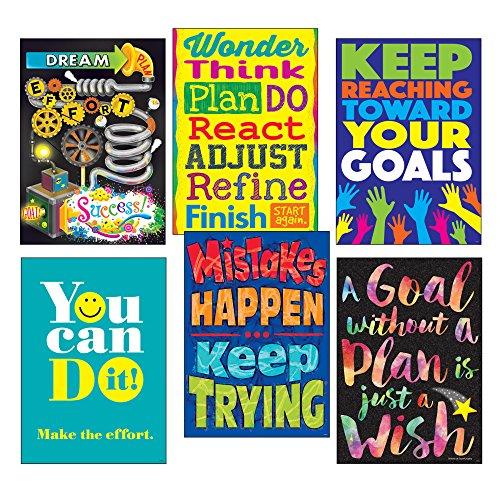 Trend Enterprises, Inc. T-A67936 Goal-Getter ARGUS Poster Combo Pack (Poster Argus Trend)