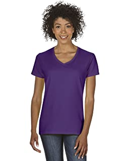 bed0f6187c7 Gildan - Heavy Cotton Women s V-Neck T-Shirt - 5V00L