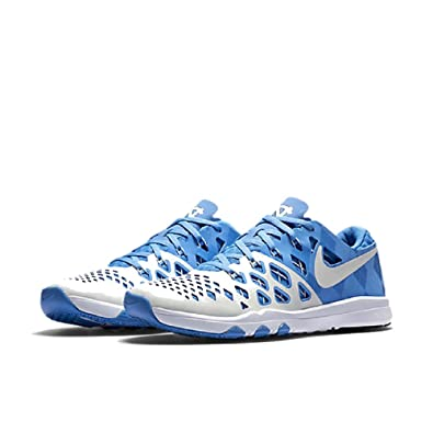 Nike Mens Train Speed 4 Amp Training Sneaker 844102 (ValorBlue/White-College Navy (UNC))