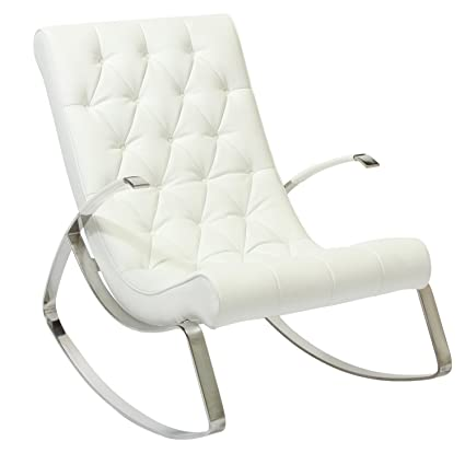 Barcelona City Modern Design Rocking Lounge Chair