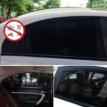 54cm FREESOO 4 Pezzi Tendine Parasole Auto per Finestrini Laterali Protezione UV Fresco e Confortevole per Bambini Animali 100