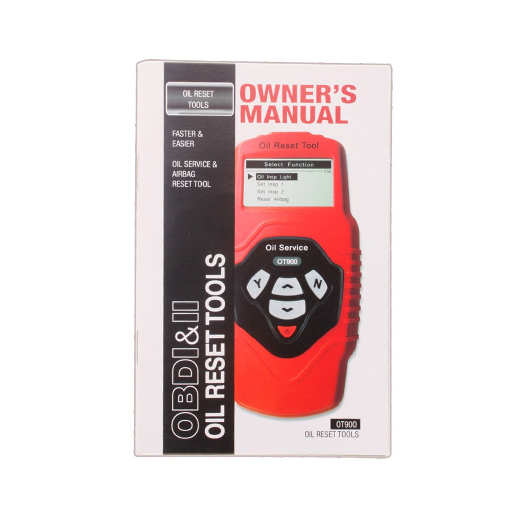 ICARSCANNER Professional Oil Service and Airbag Reset Tool OT900 Multilingual and Updatable OBD2 Code Scanner by YAXIN (Image #4)