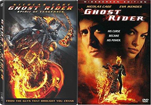 Ghost Rider + Spirit of Vengeance 2 movie set Marvel DVD - Comic Book Super hero movie Set (Ghost Rider Vs Ghost Rider Spirit Of Vengeance)