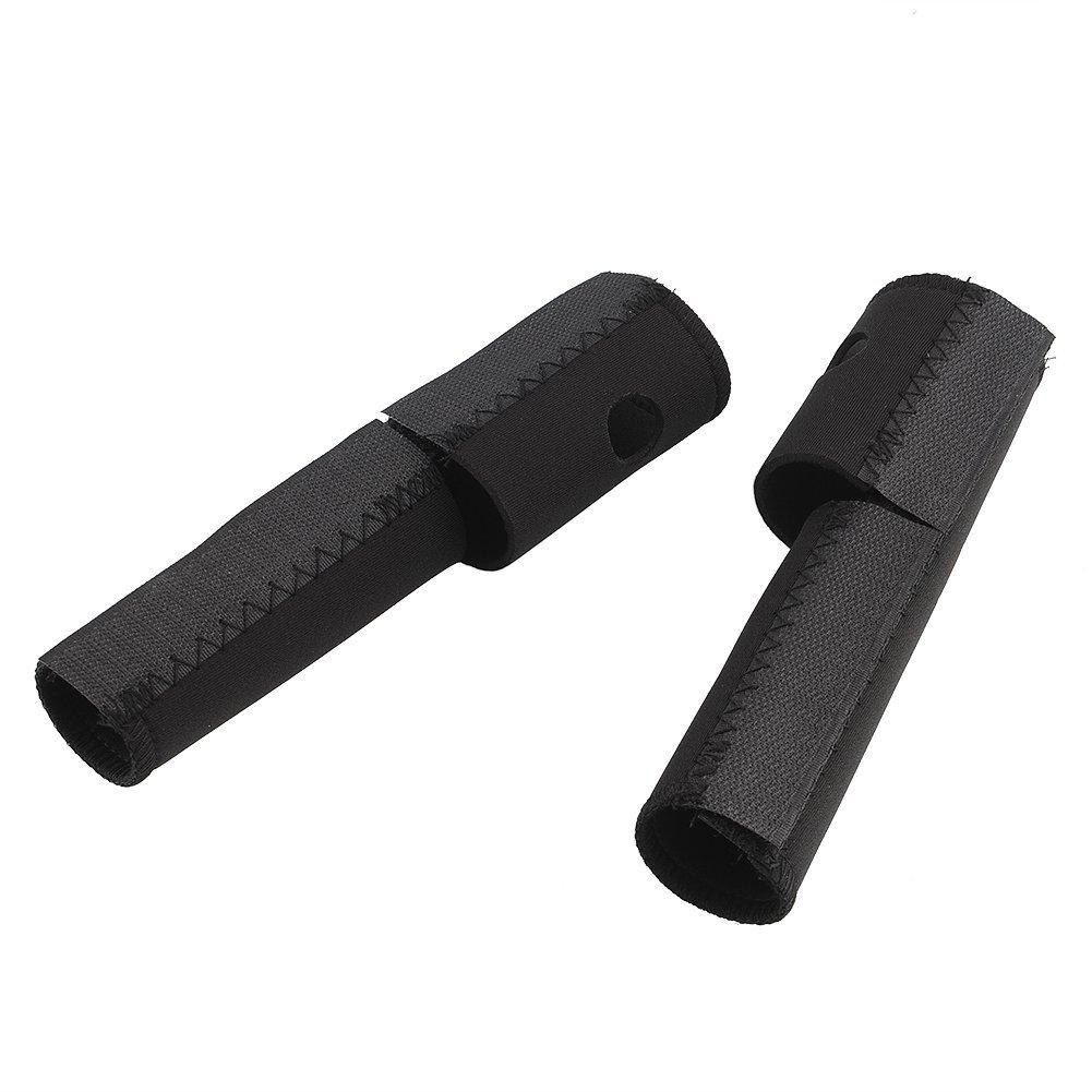 Forfar Fahrrad Radfahren MTB Kettenstrebenschutz Federgabel Gabeln Wrap Cover Seal Suspension Schutz 1 Paar