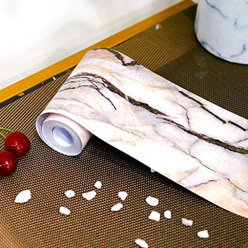 Nesee Decorative Tile Stickers Peel Marble Paper Granite DIY Tile Sticker High-end Floor Tile Decorative Line Stickers Flooring Tile Wall (Best Way To Clean Granite Floors)