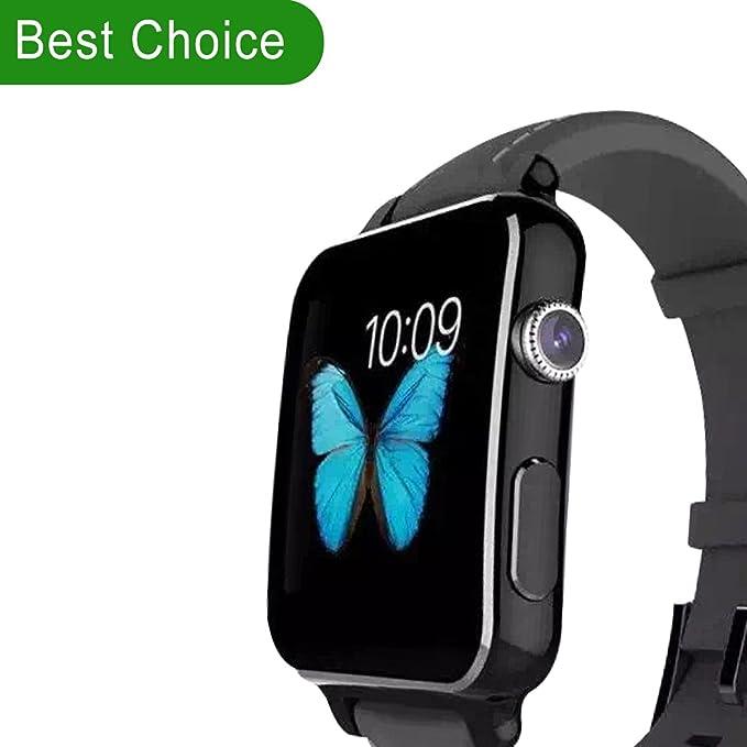 Reloj inteligente (negro): Amazon.es: Electrónica