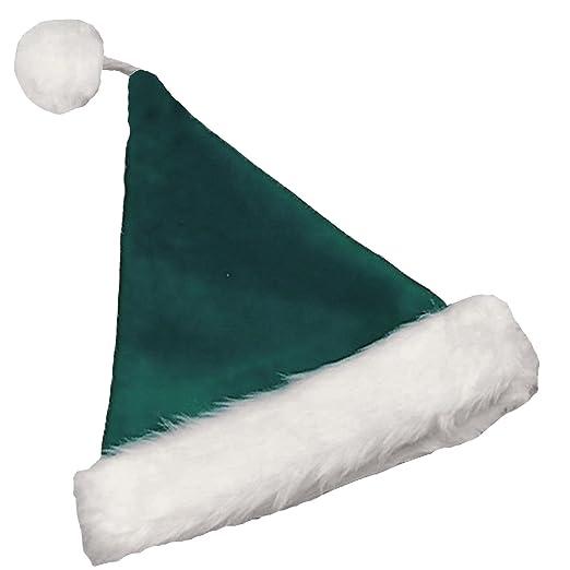 f4d4df3ec8b Amazon.com  Halco - Velvet Santa Hat