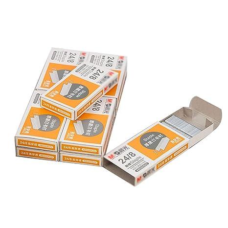 Grapas De 24/8mm, Grapas Gruesas, Capacidad De 50 Hojas, 10 Cajas