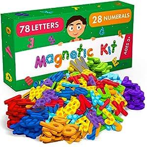 Amazon.com: X-bet MagNET - Juego de imanes de alfabeto de ...