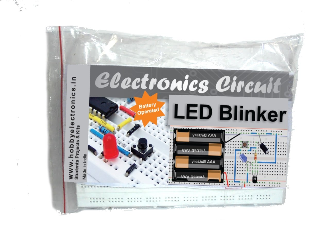 Led Blinker Project With Circuit Diagram Breadboard Spares Office Products