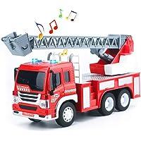 HERSITY Camión de Bomberos con Luces y Sonidos