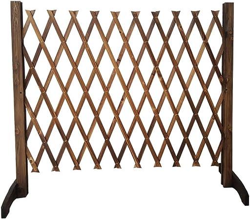 kaige Valla retráctil Cerca Perro Cerca del jardín Barandilla Puerta de Seguridad Barrera de Madera (Tamaño: H90cm) WKY (Size : H90cm): Amazon.es: Hogar