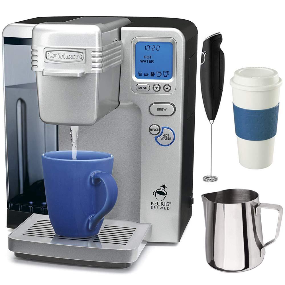 Cuisinart SS-700 Single Serve Keurig Brewing System (Certified Refurbished) with Premium Coffee Bundle