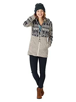 Burton Heather Con Donna it Cappuccio Embry S Dove Felpa Amazon rZYra