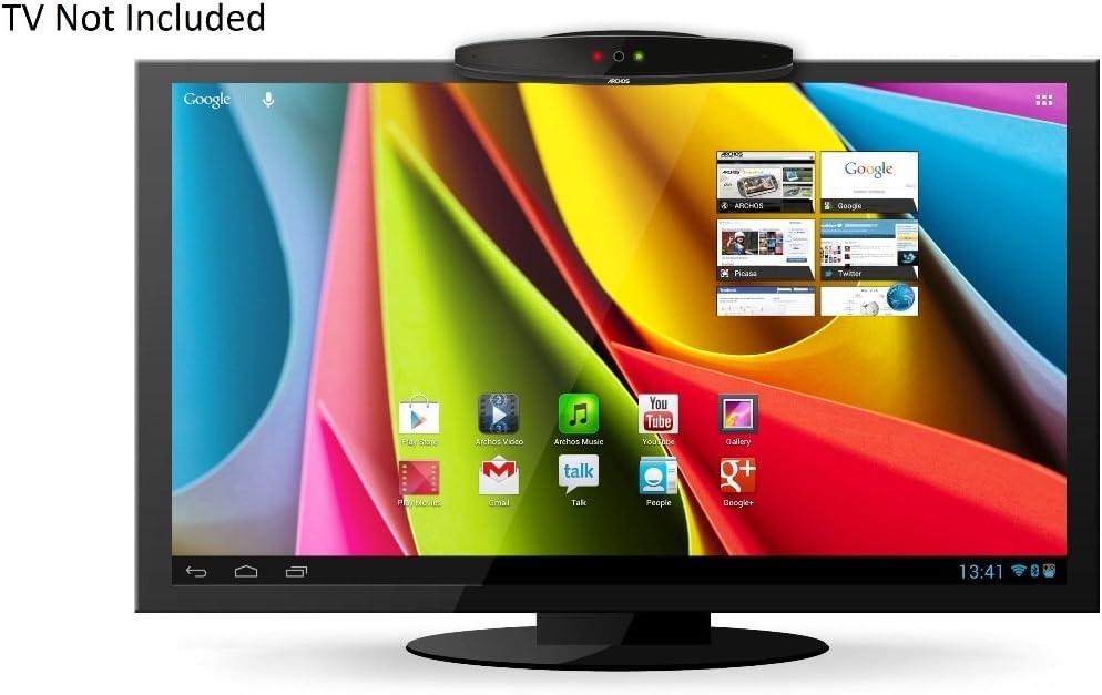 Archos TV Connect - Mando a distancia para Android (Salida TV, Tarjeta Gráfica insertada en Placa Base, Disco Duro Flash), Negro: Amazon.es: Electrónica