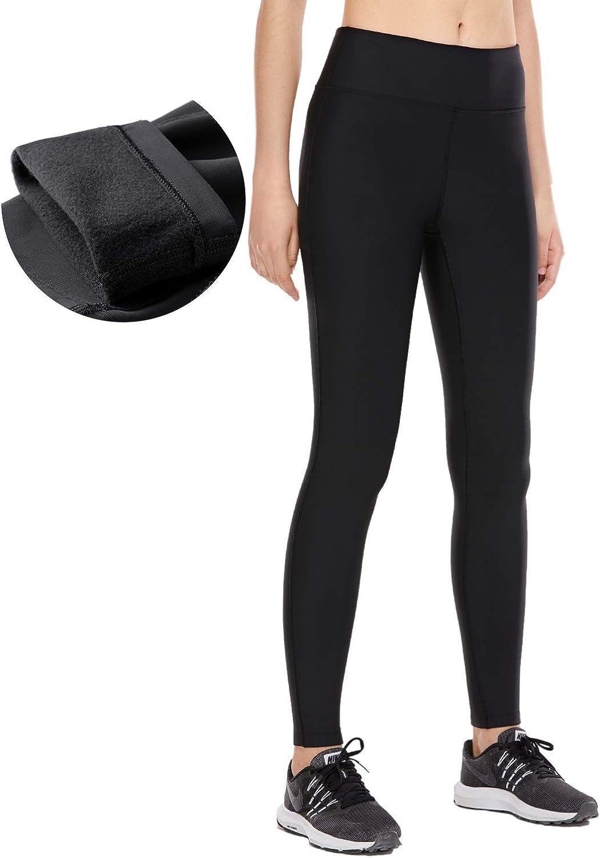 CRZ YOGA Femme Collant Taille Haute Legging Sport Thermique Pantalon avec Poches-71cm