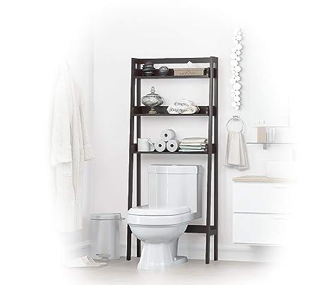 Phenomenal Utex 3 Shelf Bathroom Organizer Over The Toilet Bathroom Spacesaver Espresso Spiritservingveterans Wood Chair Design Ideas Spiritservingveteransorg