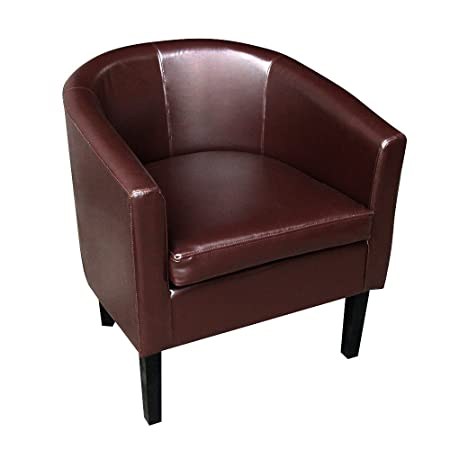 Captivating Furniture Uk Shop Faux Leather Tub Chair Armchair Club Chair Dining Living  Room Cafe