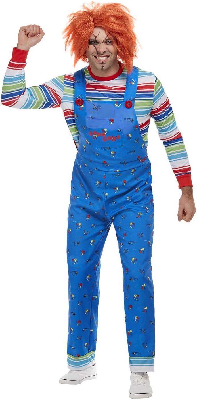 Smiffys 50265L - Disfraz de Chucky con licencia oficial, para ...