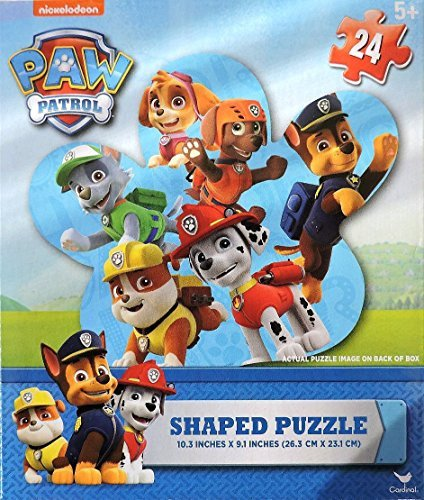 Kids Playtime Toddler Fun Nickelodeon Paw Patrol - PUZZLE PICTURE MAY VARY Jigsaw Puzzle Paw 24 Piece Paw