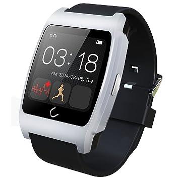 UX Smart bluetooth reloj con Monitor/Podómetro/prueba de frecuencia cardíaca para iphone 6