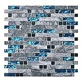 Art3d Decorative Tile for Kitchen Backsplash or Bathroom Backsplash (5 Pack)