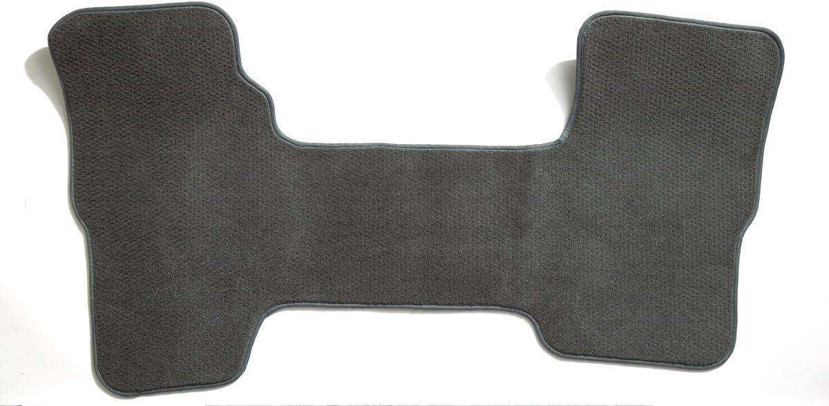 Coverking Custom Fit Rear Floor Mats for Select Toyota Prius Models Black Nylon Carpet