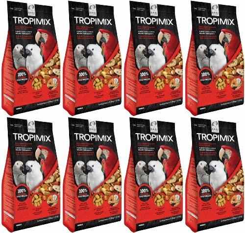 Tropimix Enrichment Food for Large Parrots 32lb (8 x 4lb)