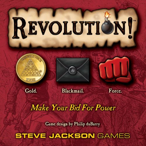 SJG Revolution 2nd Printing Card Game]()