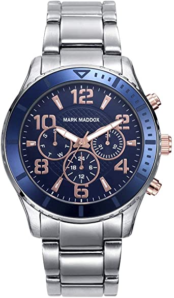 Reloj Mark Maddox - Hombre HM6008-35: Amazon.es: Relojes