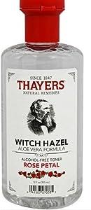 Thayers Alcohol-Free Rose Petal Witch Hazel Toner (6 Pack) 12-oz. Bottles