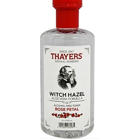 Thayer s Witch Hazel with Aloe Vera, Rose Petal Toner 12 oz 8 pack