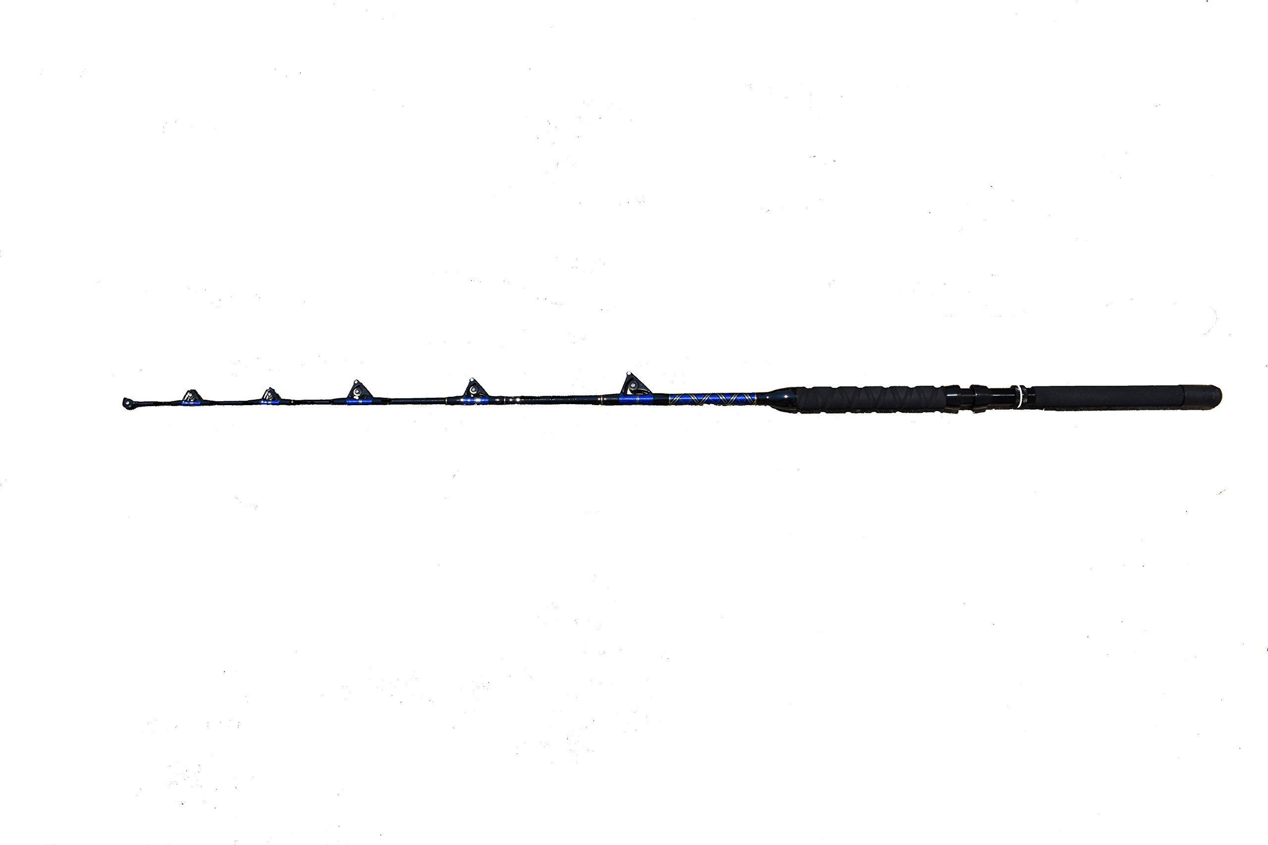 EAT MY TACKLE 60-80 lb. All Roller Guide Big Game Fishing Rod